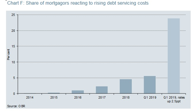Mortgagor Reaction To Debt Servicing Costs